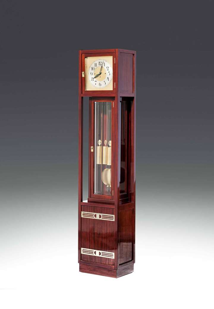 Secessionist Long Case Clock